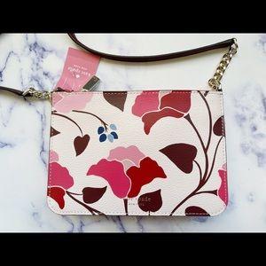 NWT Kate Spade Floral Crossbody 🌸